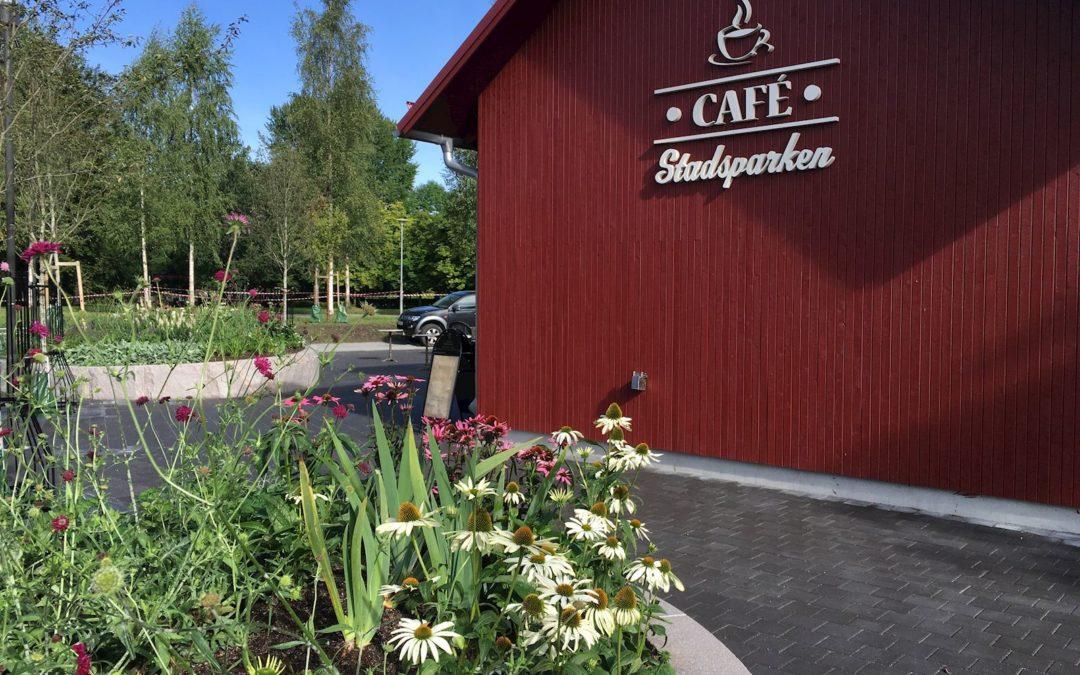 Café Stadsparken i Sala